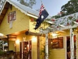 History Frangipani Austalian Flag