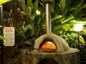 History Frangipani Woodfired Pizza Oven