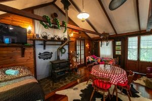 Jacaranda Cottage Woodfire and Living Area 1920 x 1280